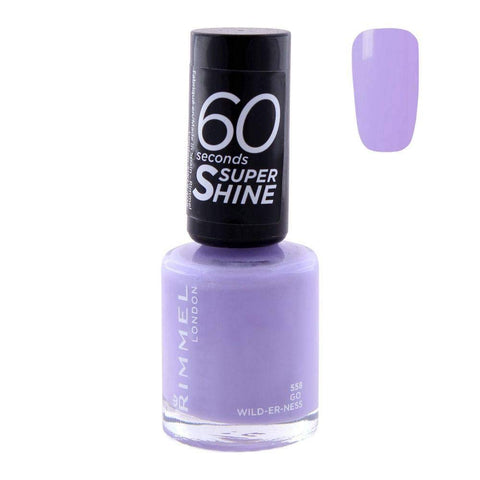 Rimmel 60 Seconds Nail Polish Go Wild-er-ness, 8ml