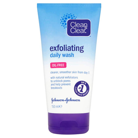 Clean & Clear Exfoliating Daily Wash, 150ml