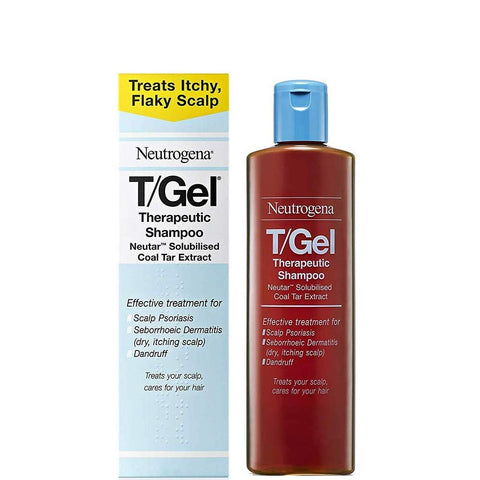 Neutrogena T/Gel Therapeutic Shampoo Treatment for Scalp Psoriasis, Itching Scalp and Dandruff 125ml 125 ml