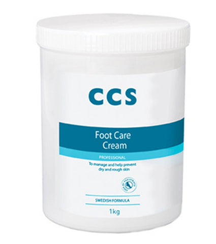 CCS Professional Foot Care Cream, 1 kg, 10 Percent Urea, Softens & Prevents Dry, Rough Skin 1 kg Foot Cream