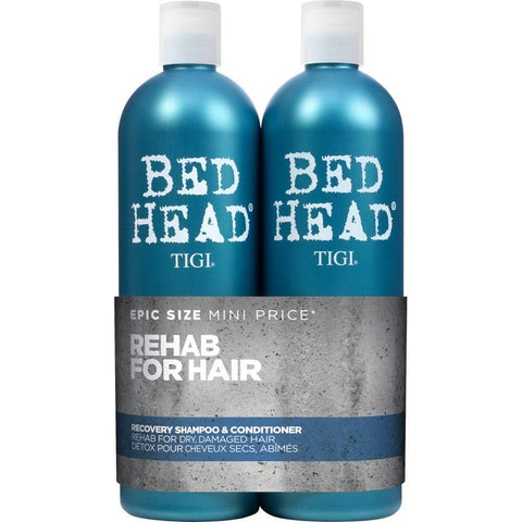 Bed Head by Tigi Urban Antidotes Recovery Moisture Shampoo and Conditioner, 750 ml, Pack of 2 Shampoo and Conditioner Set