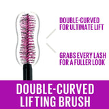 Maybelline Mascara Instant Lash Lift Look the Falsies Lengthening Volumising Mascara 01, Black