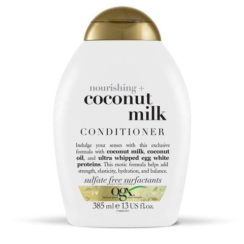 Ogx Coconut Milk & Oil Conditioner for Dry Damaged Hair, 385 ml