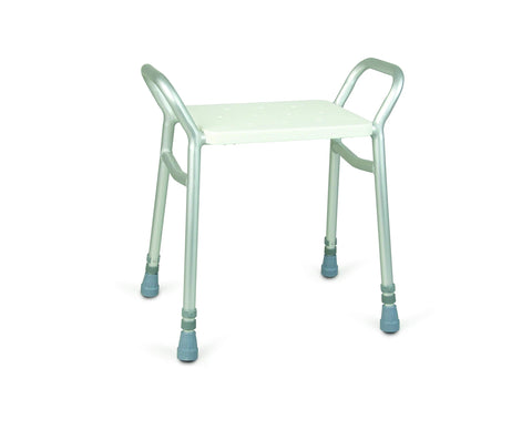 Days Lightweight Height Adjustable Shower Stool, Bathroom Seat, Shower Chair, Bathing Aid for Elderly, Disabled, and Handicapped, Bath Seat Bench, (Eligible for VAT relief in the UK)