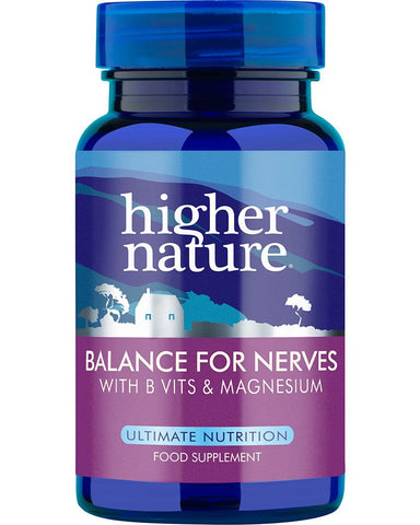 Higher Nature Balance for Nerves Pack of 90 90 caps