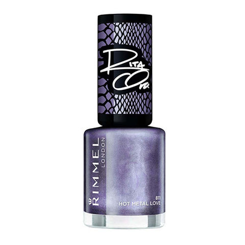 Rimmel London Rita Ora Nail Polish Hot Metal Love, 8ml
