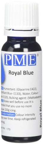PME Food Colouring - Royal Blue 25 g