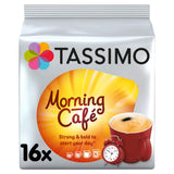 Tassimo Morning Cafe Coffee Pods (Pack of 5, 80 pods in total, 80 servings) Morning Café