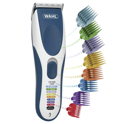 Wahl Hair Clippers for Men, Colour Pro Cordless Head Shaver Men's Hair Clippers with Colour Coded Clipper Guides Cordless Colour Pro + Colour Coded Clipper Guides