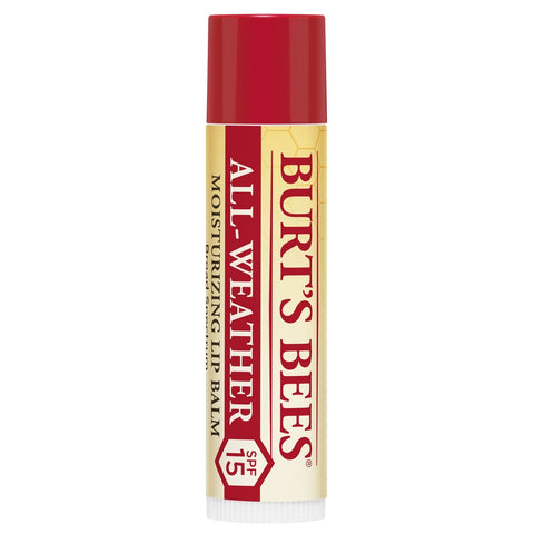 Burt's Bees 100 Percent Natural All-Weather SPF15 Moisturising Lip Balm, 4.25 g All Weather SPF 15