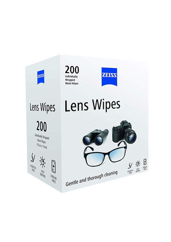 ZEISS Lens Wipes - Pack of 200
