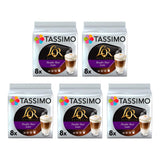 Tassimo L'OR Double Shot Latte Macchiato 8 pack x5 (40 servings)