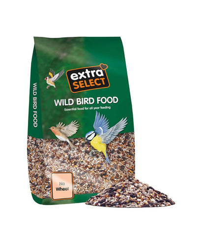 Extra Select No Wheat Wild Bird Food, 12.75 kg 12.75 kg Bag