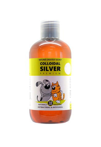 Nature's Greatest Secret Colloidal Silver Antibacterial Pets Bottle, 250 ml