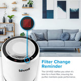 Levoit LV-H132 Air Purifier for Allergies,3-in-1 True HEPA & Active Carbon Filters,3 Speeds Portable Purifiers, Smart Filter Change Reminder, Ideal for Home Bedroom, Pollen, Pet Dander, Smokers