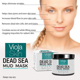 PREMIUM Dead Sea Mud Mask - Facial Anti Ageing Blackhead Remover For All Skin Types - Naturally Experience The Best Skin Possible For Your Skin. 100% Satisfaction