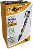 BIC Marking 2300 ECOlutions Permanent Markers - Black, Box of 12 Box x 12 Single