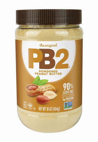 PB2Foods Powdered Peanut Butter, 454g, from Real Roasted Pressed Peanuts, High in Protein, Natural Ingredients