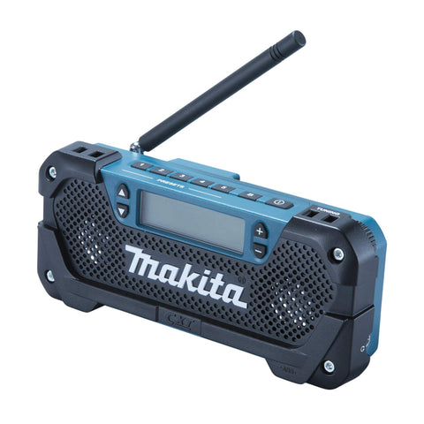 Makita MR052 Cordless Radio, 10.8 V, Multi-Colour