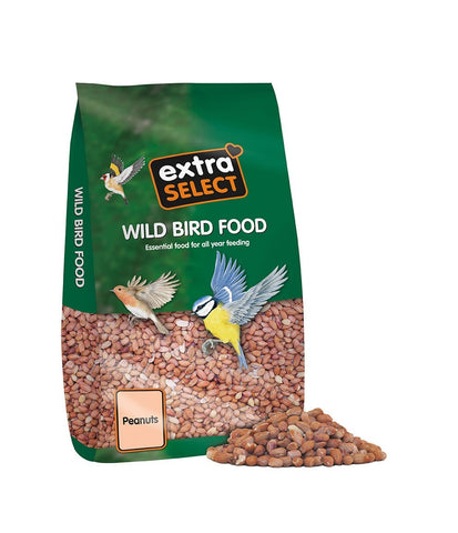 Extra Select Peanuts Wild Bird Food, 12.75 kg 12.75 kg Bag