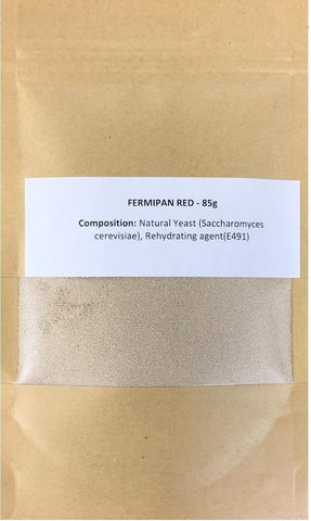 Fermipan red 85g Instant Dried Yeast for breadmaker Bakers Bakery Bread Maker Vegan