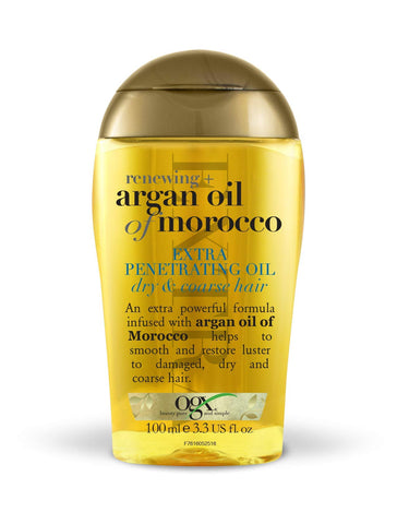 Ogx Argan Oil of Morocco Extra Penetrating Hair Oil For Dry Hair, 100 ml