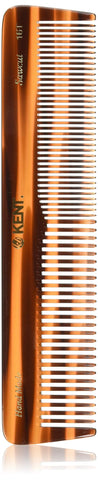 Kent Brushes Handmade Comb A 16T Extra Large Size Coarse and Fine Comb for Women