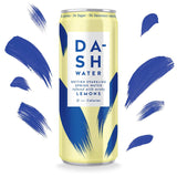 Dash Water - Lemon Infused Sparkling Water - No Calories - No Sugar - No Sweeteners (12x330ml)