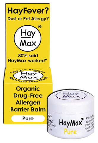 Haymax Pure Organic Pollen Balm For Hayfever 5ml