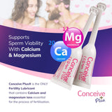 Conceive Plus Fertility Lubricant Gel 8 Pre-Filled Applicators, with Calcium and Magnesium