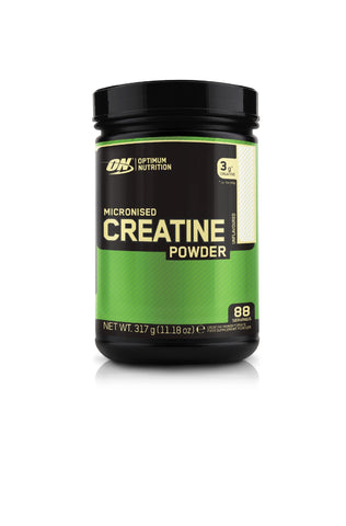 Optimum Nutrition Micronised Creatine Monohydrate  formulated for Muscle Development by ON - Unflavoured, 88 Servings, 317g 314g (Creatine)