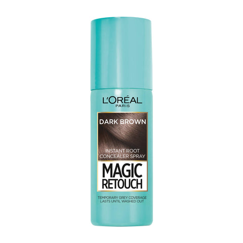 L'Oreal Paris Magic Retouch Instant Root Concealer Spray Dark Brown, 75ml
