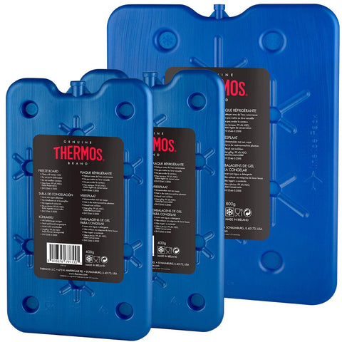 Thermos Freeze Boards, 1 x 800 g/2 x 400 g, Pack of 3 Blue