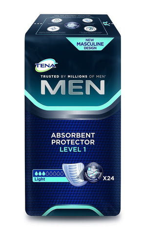TENA for Men Level 1 - 3 Packs of 24