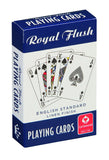 Cartamundi Royal Flush Playing Cards (3 pack, Red / White / Blue) 1 Red, White & Blue