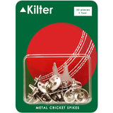 Kilter Replacement Metal Cricket Spikes With Spanner 22 Pack + Spanner