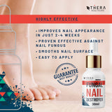 Premium Fungal Nail Destroyer, Suitable for Finger and Toe Nail | Contains Argan Oil and Tea Tree Oil | 30ml | Free Nail File and Nail Brush.