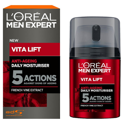 L'Oréal Paris Men Expert Anti Ageing Moisturiser, 50ml