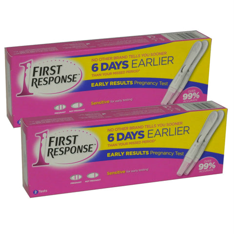2 x 2 First Response Pregnancy Early Result Test Pack