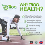 Troo Health Care Organic Moringa Oleifera Superfood - 500mg 120 Capsules - No Fillers – Rich in Vitamins & Amino Acids - Suitable for Vegans - UK Manufactured, Quality Guaranteed