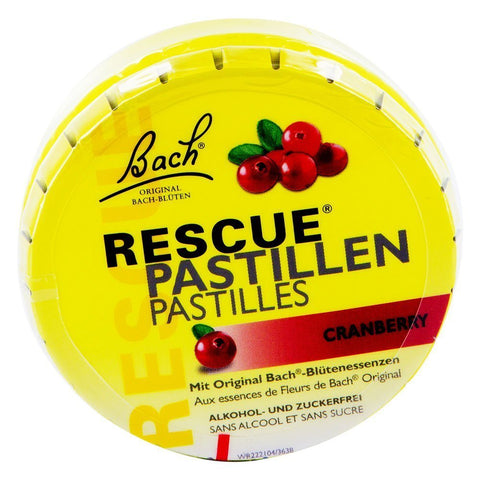 Bach Original Rescue Remedy Pastilles Cranberry 50g
