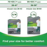 Depend Comfort Protect Incontinence Pants for Men, Large/Extra-Large - 27 Pants Large/X-Large 3 Packs
