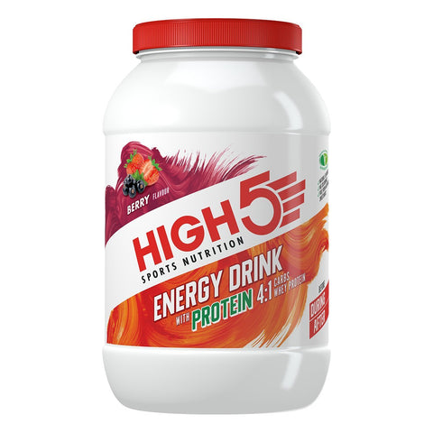High5 Berry Flavoured Energy Drink with Protein, 1.8 kg 1.6KG