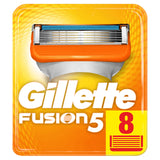 Gillette Fusion Razor Blades, 8 Refills New, Packaging May Vary Frustration-Free Packaging