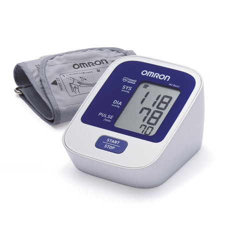 Omron Basic M2 Blood Pressure Measuring Device For Upper Arm M2 Basic
