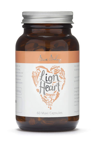 Bare Biology Lion Heart Purest Omega 3 Soft Gel Maxi capsules (Pack of 60)