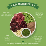 Lily's Kitchen Lovely Lamb with Peas and Parsley Dry Food for Dogs 7kg 7 kg