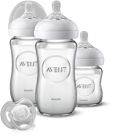 Philips Avent SCD303 / 01 Newborn Natural Glass Kit