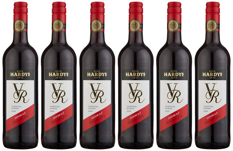 Hardys VR Shiraz Wine, 75 cl (Case of 6)