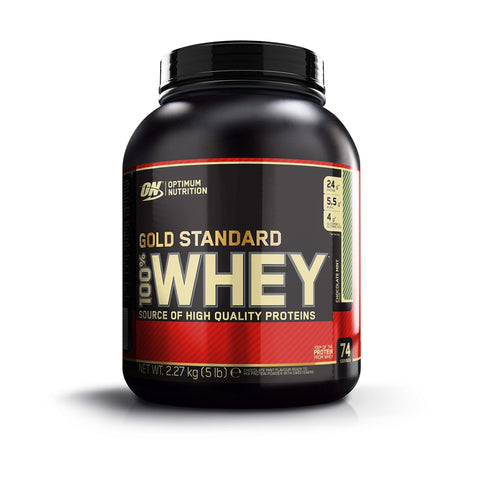 Optimum Nutrition ON Gold Standard Whey Muscle Building and Recovery Protein Powder with Glutamine and Amino Acids, Chocolate Mint, 74 Servings, 2.27 kg